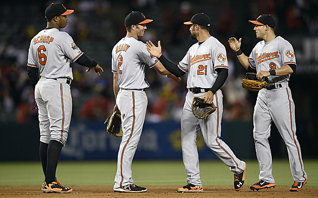 It was quite a successful road trip for the Orioles.