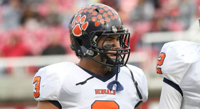 Osa Masina moved up to the No. 9 OLB and No. 81 overall. (247Sports)