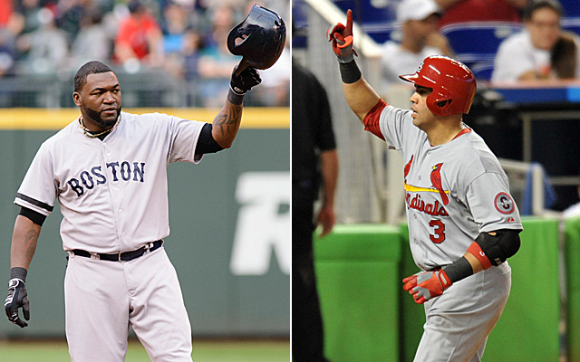David Ortiz and Carlos Beltran head up the 'old guys' squad.