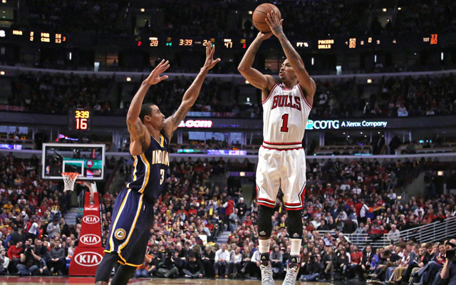 The Bulls rose above the Pacers Saturday. Get it?  (USATSI)