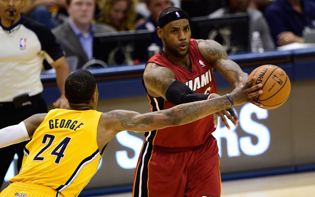 The Pacers contained the Heat in Game 1. (USATSI)