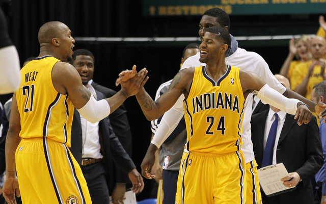 The Pacers have struggled, but they're still in the conference finals. (USATSI)