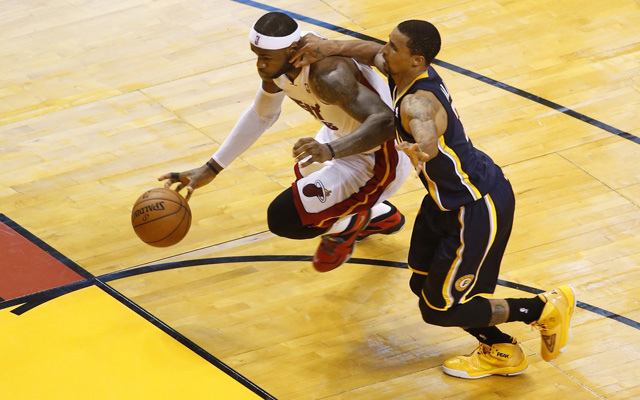 The Pacers were powerless against LeBron James in Game 4.   (USATSI)