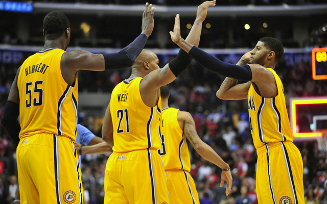 The Pacers starters will rest Wednesday. (USATSI)