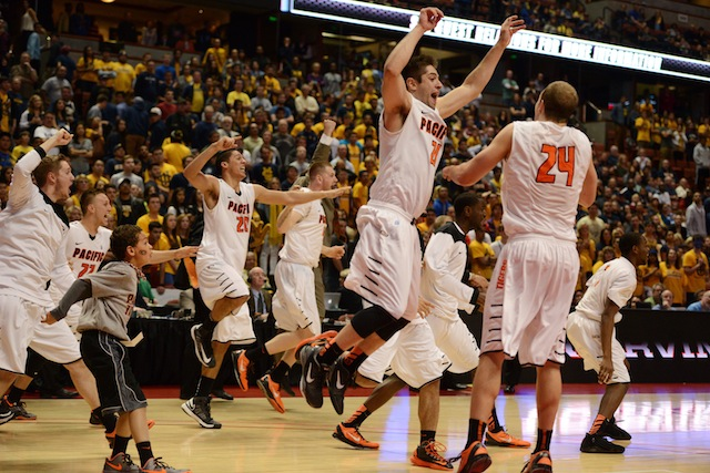 Pacific picked the perfect way to send out coach Bob Thomason on a high note. (USATSI)