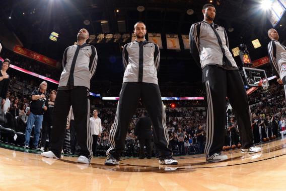 The Spurs' Big 3 passed a major milestone Wednesday.(USATSI)