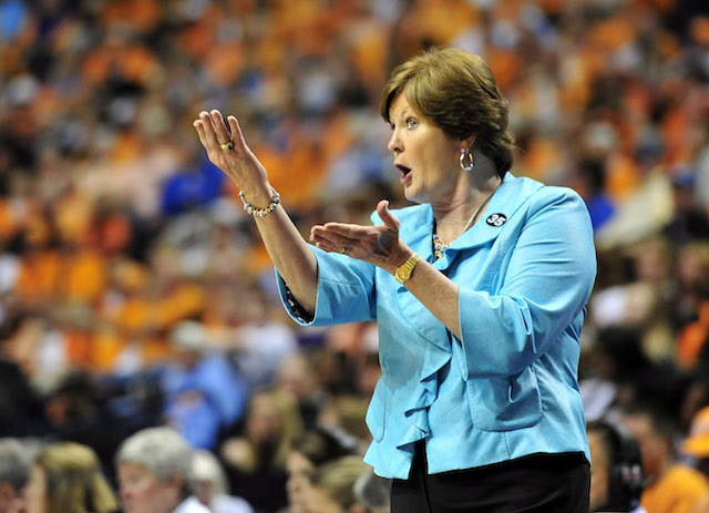 Pat Summit won nearly 1100 games as head coach Tennessee's women's basketball team. (USATSI)