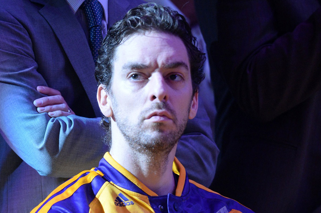 The majestic, talented, usually-in-a-suit Pau Gasol.    (USATSI)