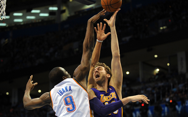 Pau Gasol could join the Thunder.  (USATSI)