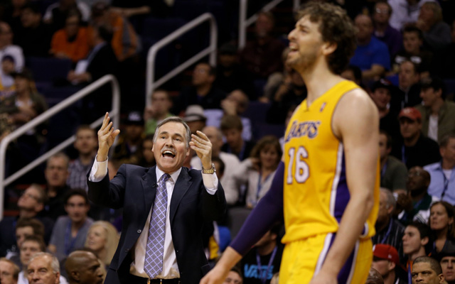 Things aren't great between Mike D'Antoni and Pau Gasol.  (USATSI)
