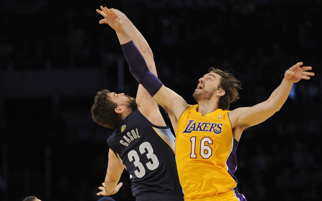 Pau Gasol is open to a return to Memphis.  (USATSI)
