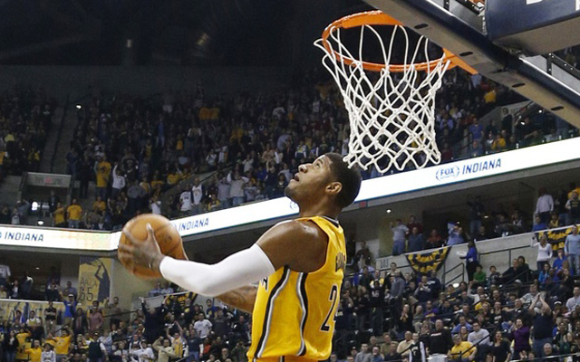 Paul George Will Reportedly Join The Dunk Contest USATSI