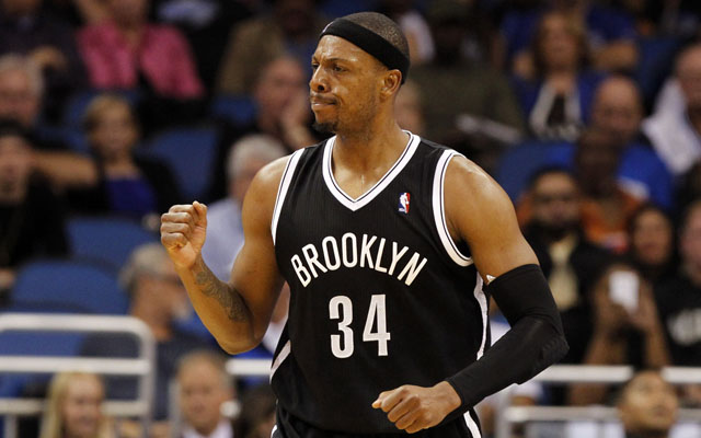 Paul Pierce could miss action Friday. (USATSI)