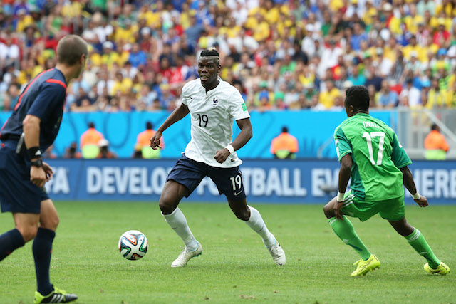 Paul Pogba needs to help France control the midfield against Germany. (Getty Images)