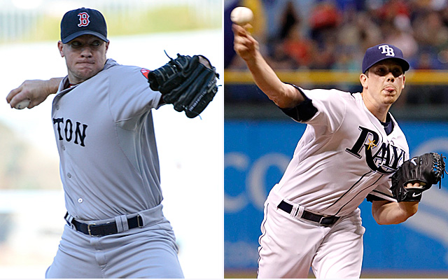 It's Jake Peavy vs. Jeremy Hellickson for Game 4.
