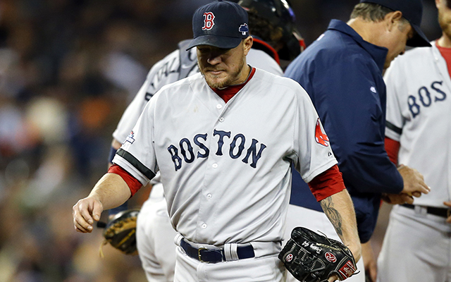 Jake Peavy became the first starter to get creamed in the ALCS on Thursday.