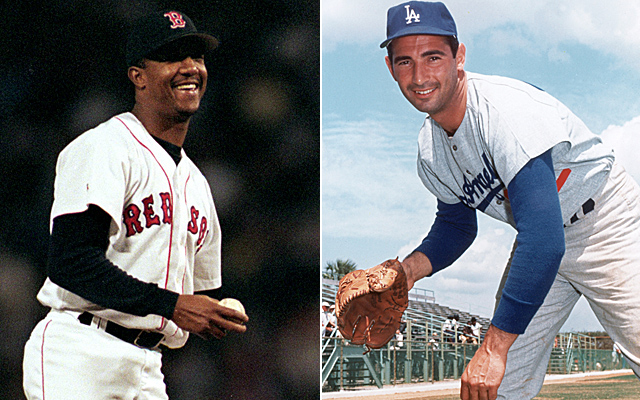 Comparing Pedro Martinez to Sandy Koufax? Yes, it fits.