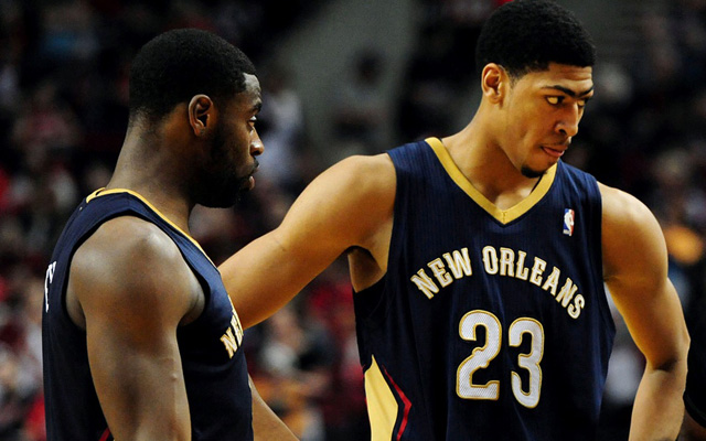 The Pelicans are trying to get Anthony Davis some help.   (USATSI)