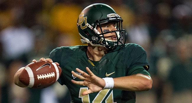 Bryce Petty threw for 4,200 yards and 32 touchdowns last season for Baylor. (USATSI)