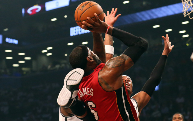 Paul Pierce tried everything vs. LeBron. Nothing worked. (USATSI)
