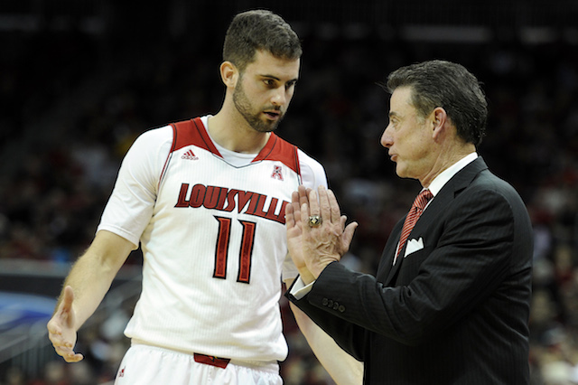 If Rick Pitino is going to win the AAC without Chane Behanan, Luke Hancock needs to step up. (USATSI)