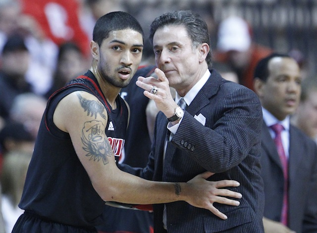 Rick Pitino has constantly praised Peyton Siva, despite outsiders picking on his weaknesses. (USATSI)