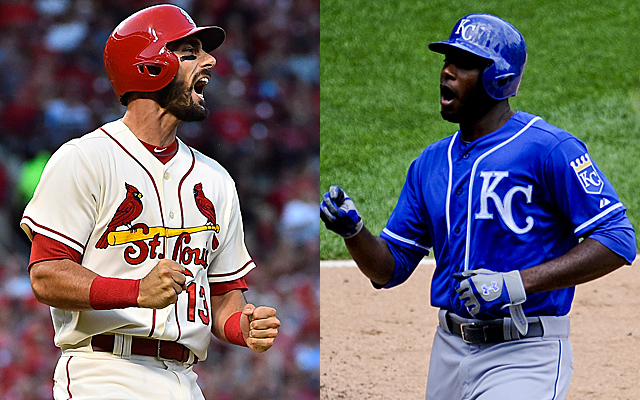 Will the Cardinals and/or Royals be playing in November?