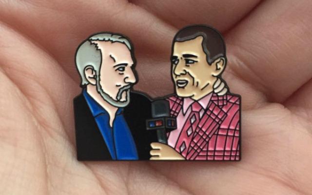 Pop-Sager pin.