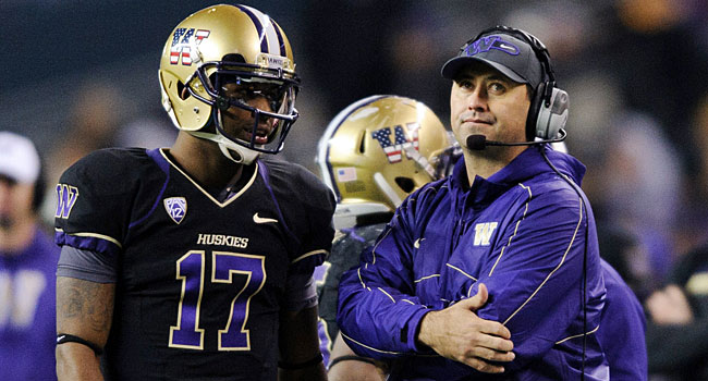 Keith Price and Washington have a tough opener against Boise State. (USATSI)