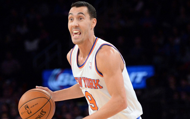 Pablo Prigioni joins several Knicks on the injured list.  (USATSI)