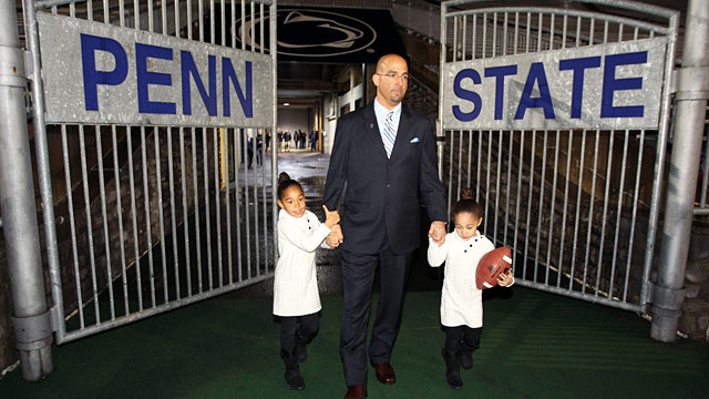 A new era has begun at Penn State with James Franklin. (USATSI)
