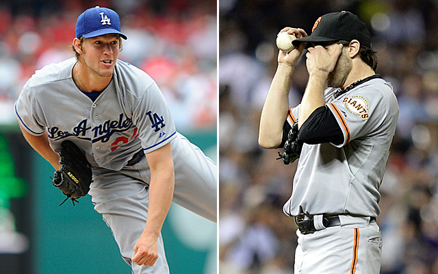 Aside from both being left-handed, Clayton Kershaw and Barry Zito were polar opposites in 2013.