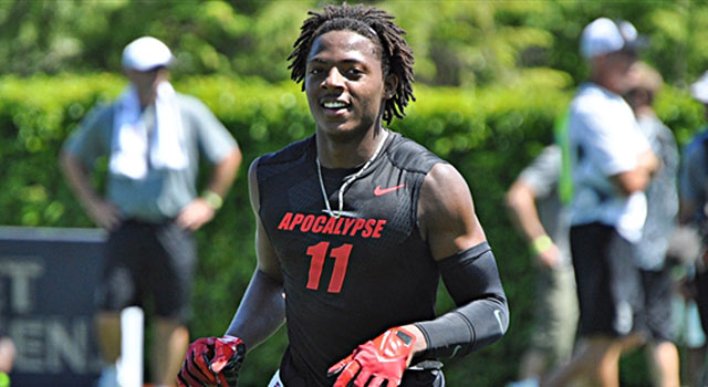 Michiah Quick will decided between Oklahoma or Notre Dame. (247Sports)