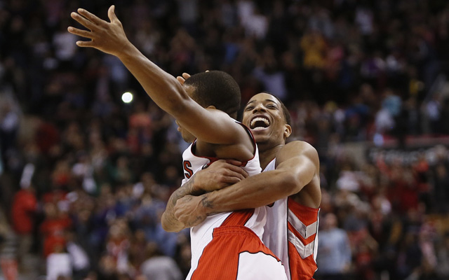 The Raptors are number one in something!  (USATSI)
