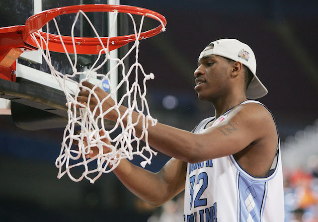 Rashad McCants helped win a national championship with North Carolina in 2005. (Getty Images)