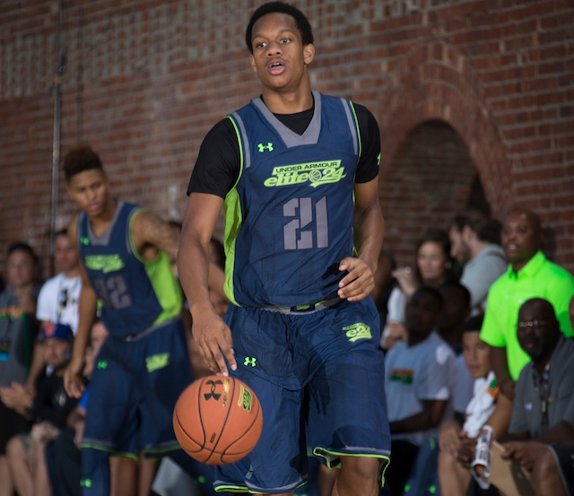 Rashad Vaughn will immediately be one of the best scorers in the MWC. (Kelly Kline/Under Armour)