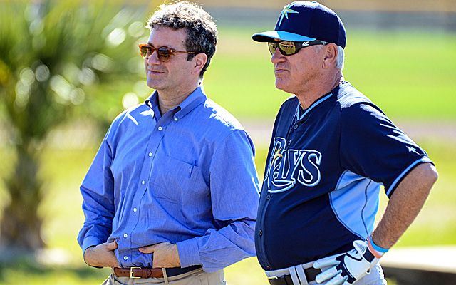 Owner Stu Sternberg has to be impressed with the look of Joe Maddon's Rays.