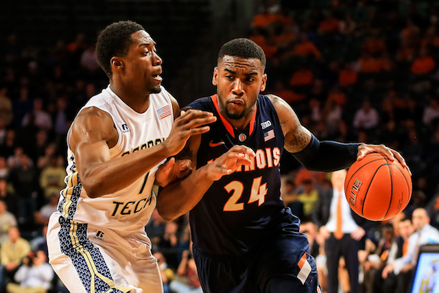 Rayvonte Rice and Illinois can make a statement with a win over Indiana on Tuesday. (USATSI)