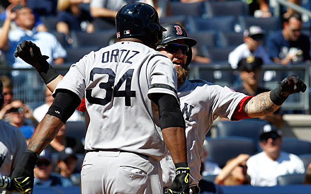 Big Papi, Jonny Gomes and company have been raking all season, but it's been absurd of late.