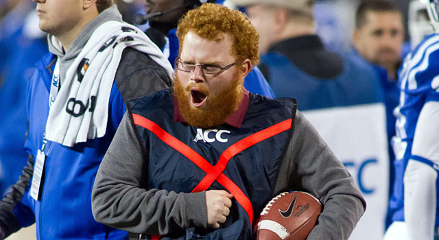 Red Lightning was fired up during FSU's win in the ACC Championship. (USATSI)