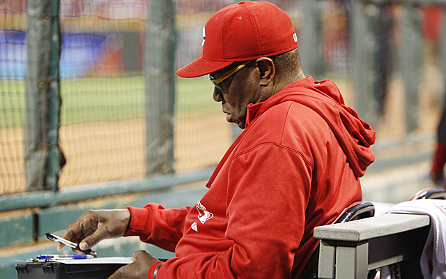 It's back to the drawing board for Dusty Baker and the Reds.