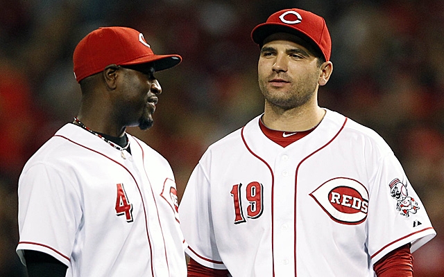 Both Brandon Phillips and Joey Votto are in line to start the All-Star Game.