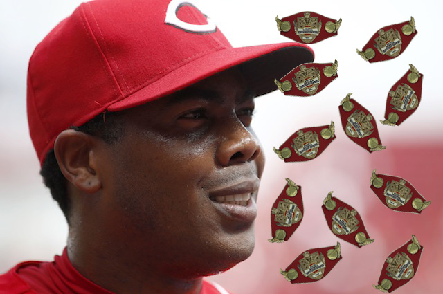 Aroldis is back and he's got a lot of belts on his mind.