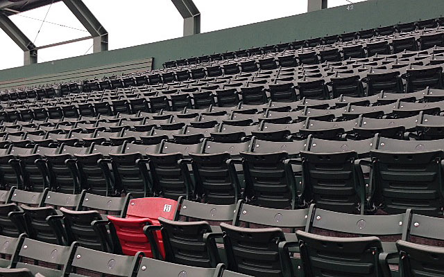 Photos Fenway Park Ted Williams And The Red Seat
