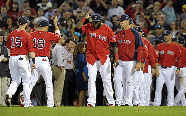 Who gets the A for Friday? Well, the Red Sox put on a clinic, so there's a start.