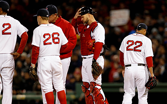 Felix Doubront and his Red Sox were embarrassingly bad Thursday.