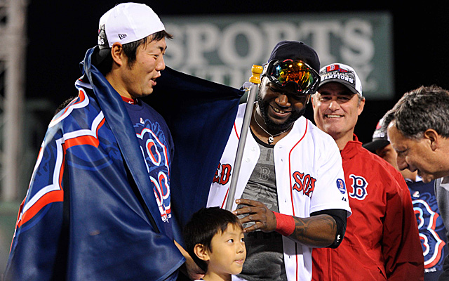 The Boston Red Sox are American League champions.