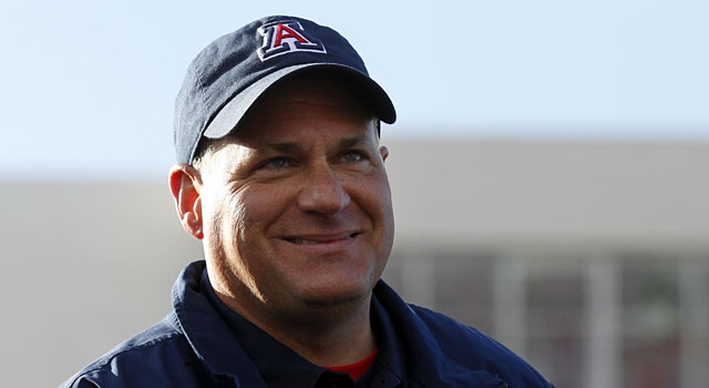 Is it possible for Rich Rodriguez to leave Arizona? (USATSI)