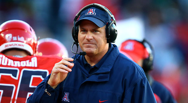 Rich Rodriguez and Arizona could be the sleeper of the Pac-12. (USATSI)