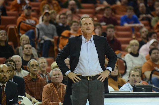 Rick Barnes has finished better than fifth in the Big 12 just once since 2009. (USATSI)